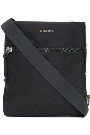 Diesel Logo plaque messenger bag