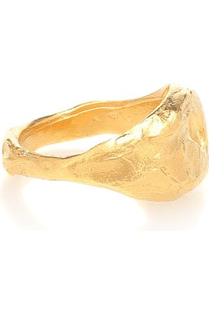 Alighieri The Infernal Storm 24kt gold-plated sterling silver