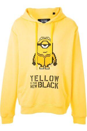 MOSTLY HEARD RARELY SEEN Mænd Strik - Yellow is the New Black hættetrøje
