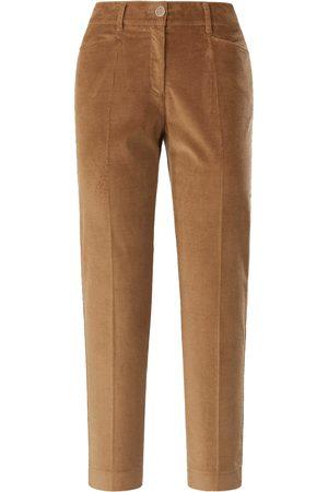 Brax Slim Fit 7/8-buks i bredriflet fløjl Fra Feel Good brun
