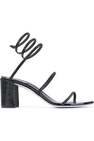 RENÉ CAOVILLA Kvinder Sandaler - Sandaler med spiral-ankel og nitter