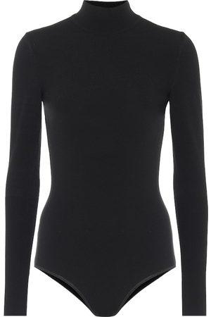 Alaïa Kvinder Bodies - Wool-blend turtleneck bodysuit