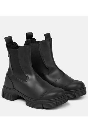 Ganni Kvinder Ankelstøvler - Rubber ankle boots