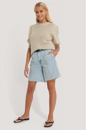 NA-KD Kvinder Shorts - Front Pleat Bermuda Shorts