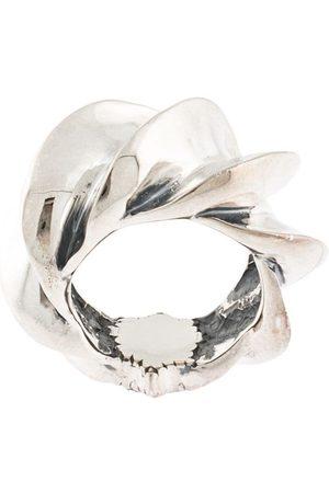 Natural Instinct Mænd Ringe - Oversize tekstureret ring