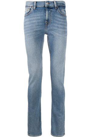 7 For All Mankind Mænd Slim - Jeans med mellemhøj talje og smal pasform