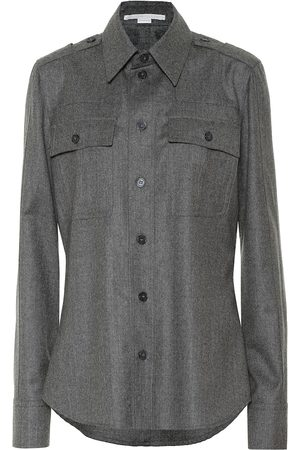 Stella McCartney Wool-blend shirt