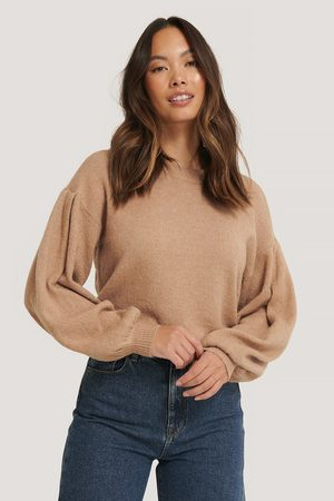 NA-KD Kvinder Strik - Drop Shoulder Knit