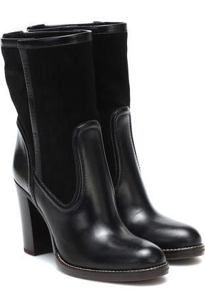 Chloé Kvinder Ankelstøvler - Leather and suede ankle boots