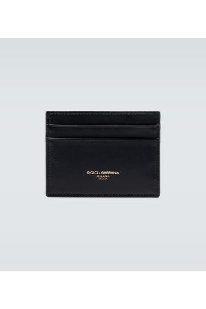 Dolce & Gabbana Mænd Punge - Leather cardholder