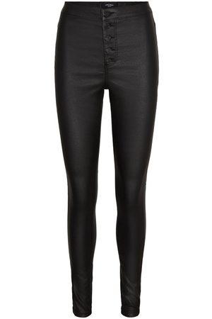 VERO MODA Kvinder High waist - Vmjoy Coated High Waist Skinny Fit Jeans Kvinder