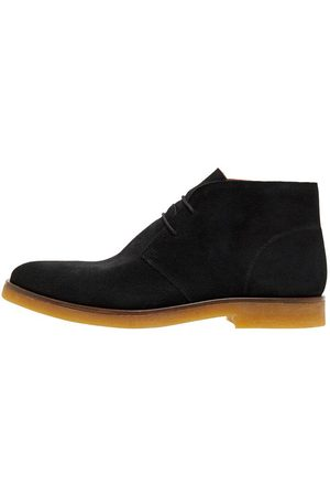 Bianco Biadino Lace-up Boots Mænd Sort
