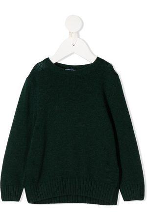 SIOLA Buttoned round-neck jumper
