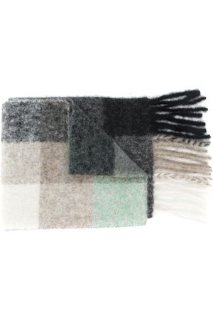 Acne Studios Tørklæder - Multi-ternet tørklæde