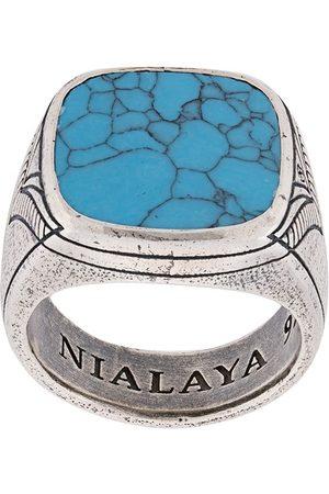 Nialaya Onyx ring med indgravering