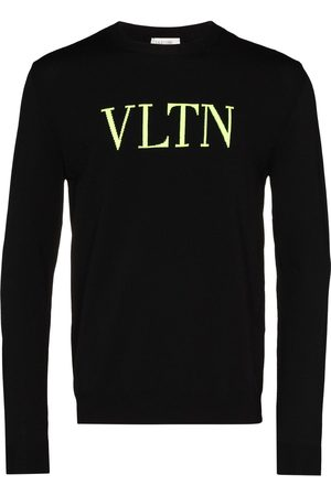 VALENTINO Sweater i neon-strik