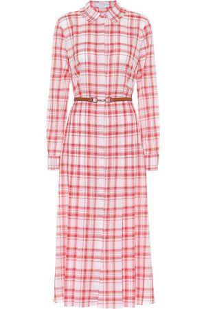 GABRIELA HEARST Kvinder Casual kjoler - Jane checked cotton shirt dress
