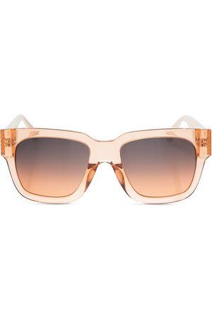 Linda Farrow Sunglasses with scarf