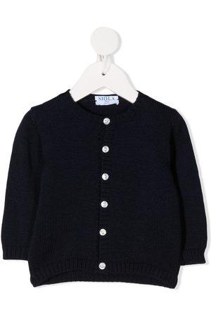 SIOLA Button-up round-neck cardigan