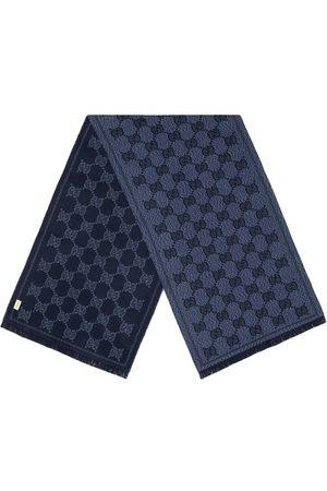 Gucci Tørklæde i jacquard med GG-mønster