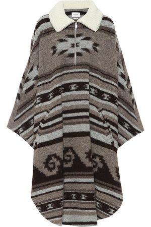Isabel Marant Kvinder Ponchos - Gabo wool-blend zipped poncho