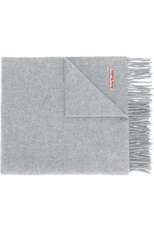 Acne Studios Oversize tørklæde med frynser