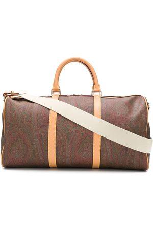 Etro Mænd Weekendtasker - Holdall-taske med paisleytryk og lynlås