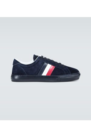 Moncler Mænd Sneakers - New Monaco suede sneakers