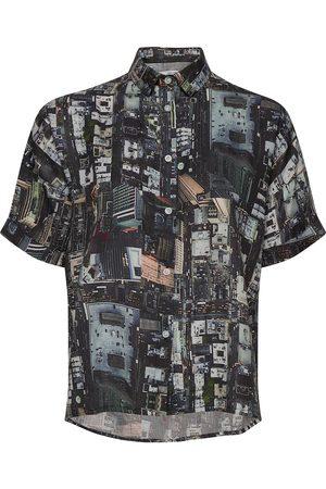 Dedicated Shirt Short Sleeve Nibe Urban Kortærmet Skjorte Multi/mønstret