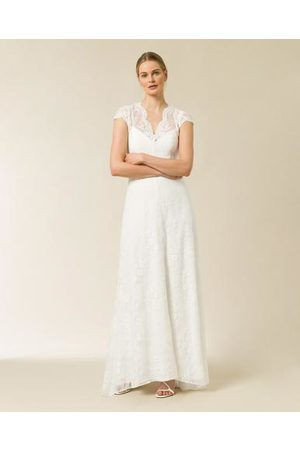 Ivy & Oak Bridal Cap Sleeve Lace Dress