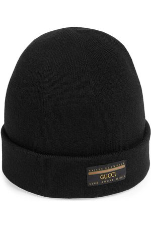 Gucci Mænd Hatte - Wool hat with label