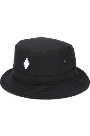 MARCELO BURLON Cross-print bucket hat