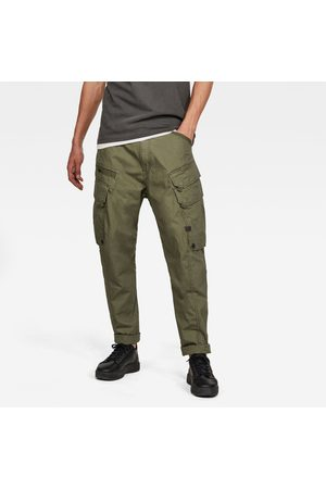G-Star RAW Men Droner Relaxed Tapered Cargo Pants Green