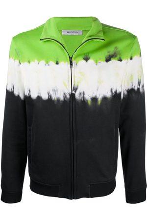 VALENTINO Mænd Sweatshirts - Tie-dye zipped sweatshirt