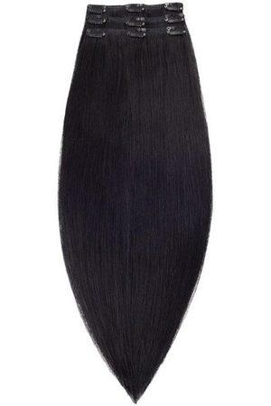 Rapunzel Of Sweden 50 cm Clip-on set Original 3 pieces Hair extensions Black