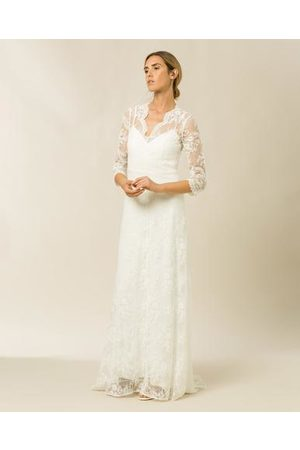 Ivy & Oak Bridal Lace Dress with Long Sleeves