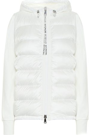 Moncler Cotton jersey and down jacket