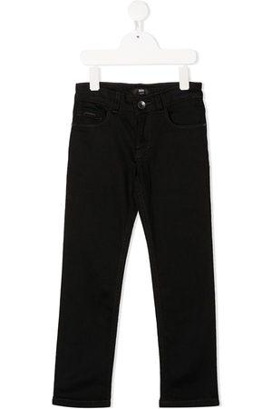 HUGO BOSS Jeans med lige ben og logo