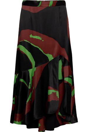Rodebjer Vianca Lang Nederdel Multi/mønstret