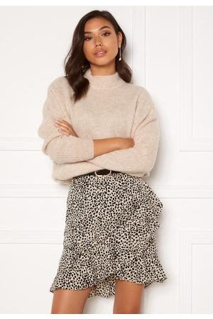 Selected Lulu Enica LS Knit O-Neck Birch XL