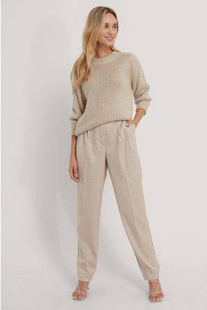 The Fashion Fraction x NA-KD Kvinder Habitbukser - Pleat Detail Suit Pants