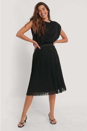 NA-KD Kvinder Midinederdele - Midi Pleated Skirt