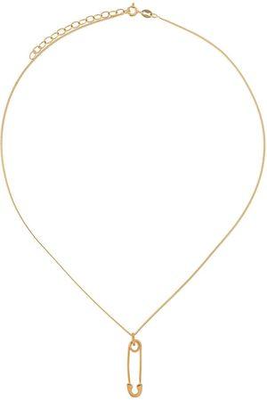 TRUE ROCKS Mænd Halskæder - Safety pin pendant necklace