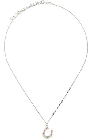 TRUE ROCKS Mænd Halskæder - Horseshoe pendant necklace