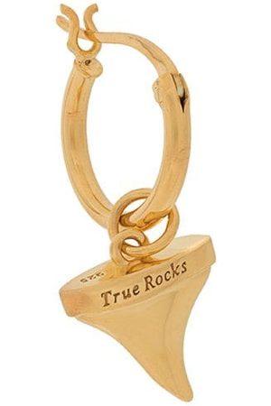 TRUE ROCKS Mænd Øreringe - Shark Tooth single hoop earring