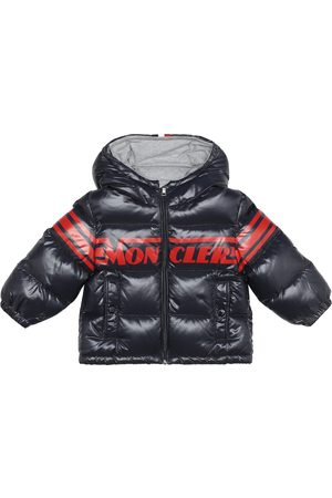 Moncler Baby logo down coat