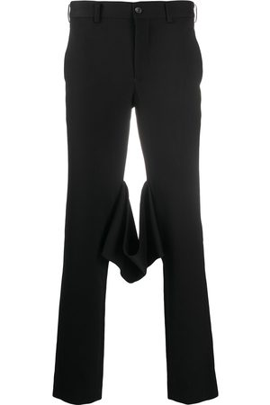 Comme des Garçons Finstrikkede bukser med smal pasform