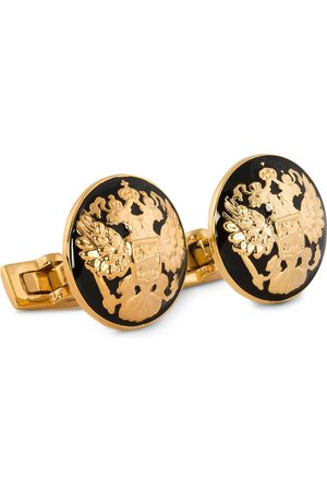 Skultuna Mænd Manchetknapper - Cuff Links The Double Eagle/Baroque