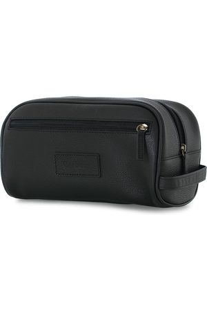 Barbour Mænd Toilettasker - Leather Washbag Black