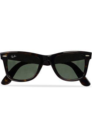 Ray-Ban Original Wayfarer Sunglasses Tortoise/Crystal Green